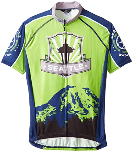 fda99df2b Amazon.com   Canari Men s Seattle Jersey   Sports   Outdoors