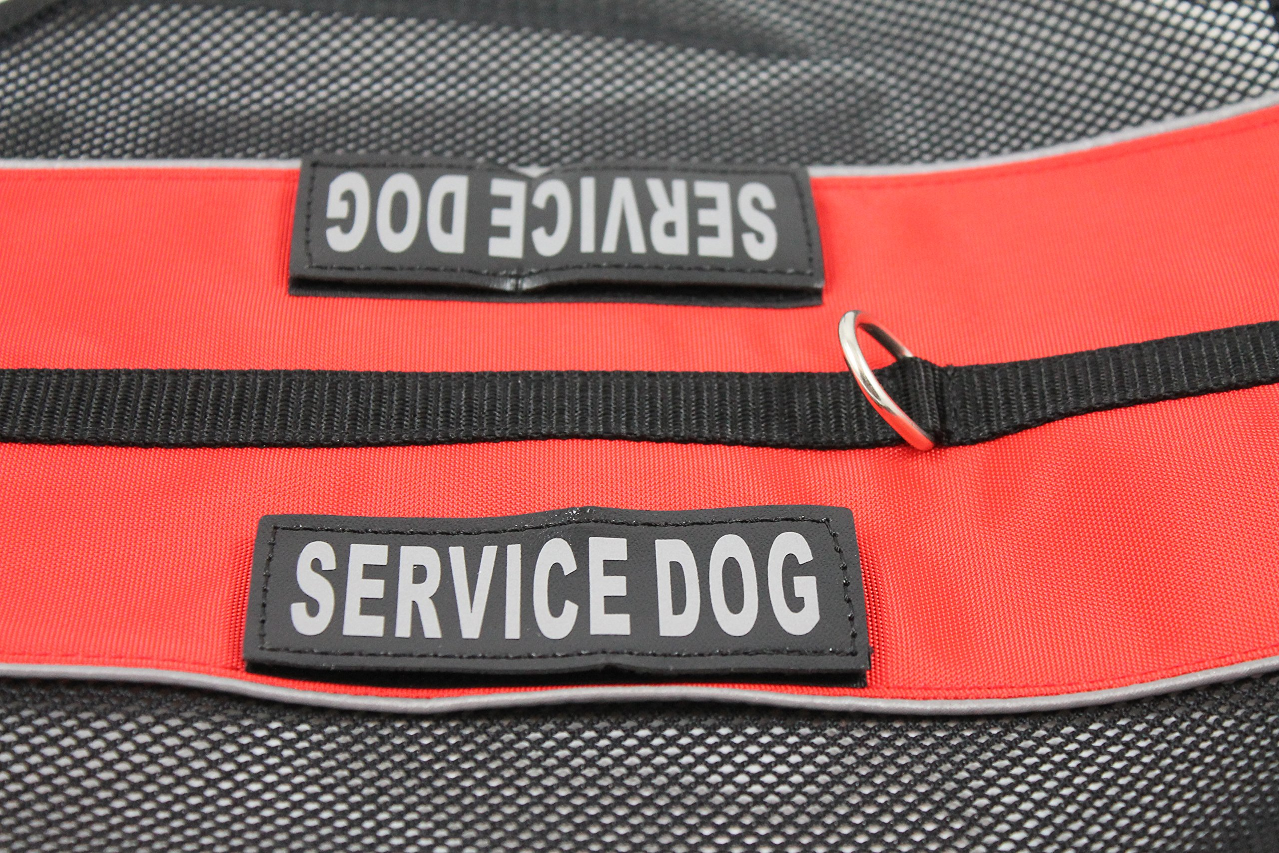 Service Dog Vest in Cool Comfort Mesh Comes with 2 Free Removable Patches (Small: 16-19'')