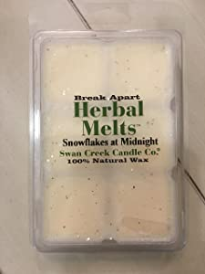 Swan Creek Candle Co Herbal Melts - SNOWFLAKES at MIDNIGHT