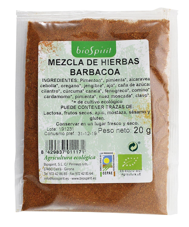 Biospirit Mezcla de Hierbas para Barbacoa de Cultivo Ecológico - 10 Paquetes de 20 gr - Total: 200 gr: Amazon.es: Alimentación y bebidas