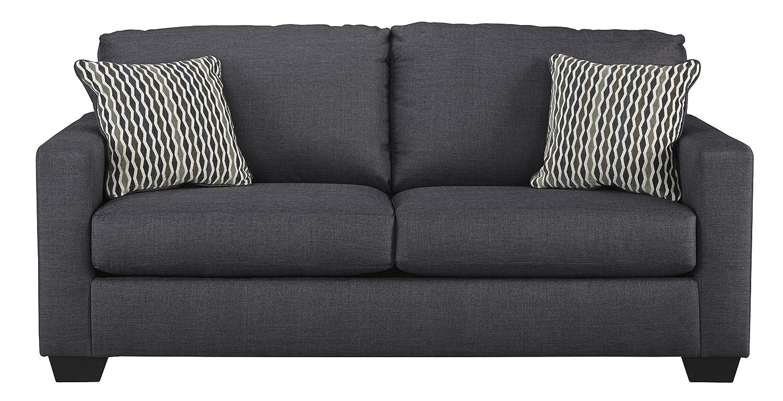Pleasing Benchcraft Bavello Contemporary Sofa Sleeper Full Size Mattress Included Indigo Ibusinesslaw Wood Chair Design Ideas Ibusinesslaworg
