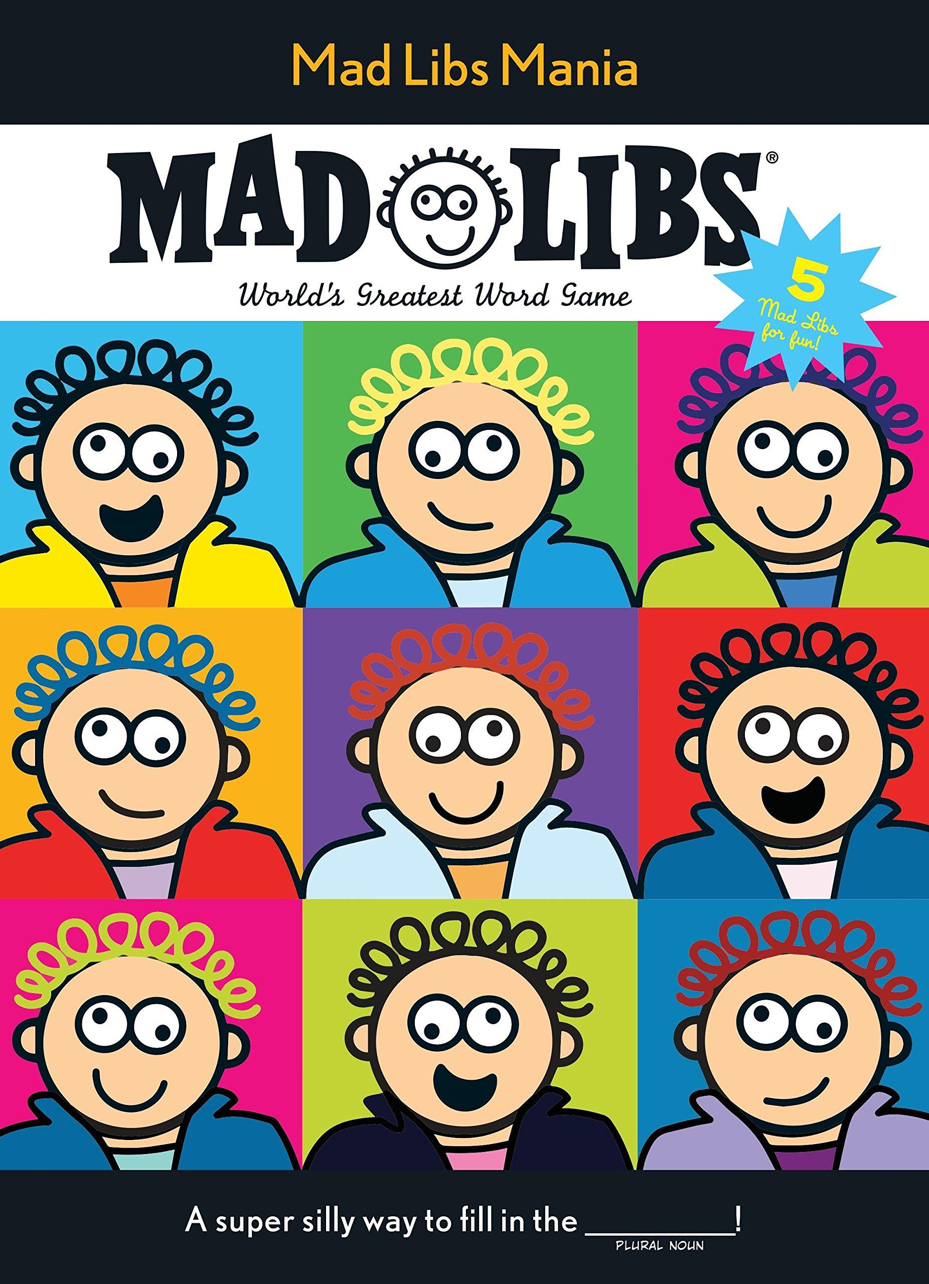 Download Mad Libs Mania pdf