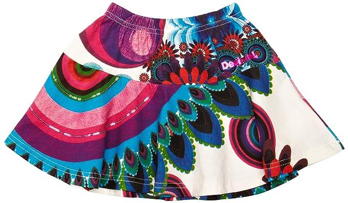 Desigual - Falda mini para niña, talla 7-8 años (122/128 cm ...