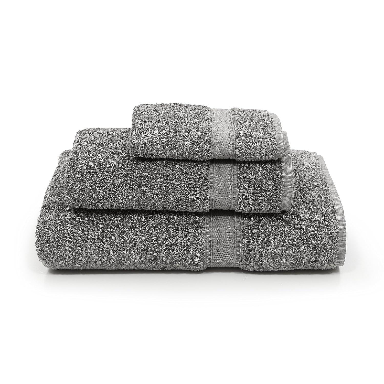 Linum Home Textiles SN96-3C Bath Towel Dark Grey