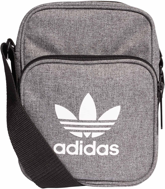 Adidas Mini Bag Casual Borsa Messenger, 25 cm, Nero (Negro/Blanco) D98927