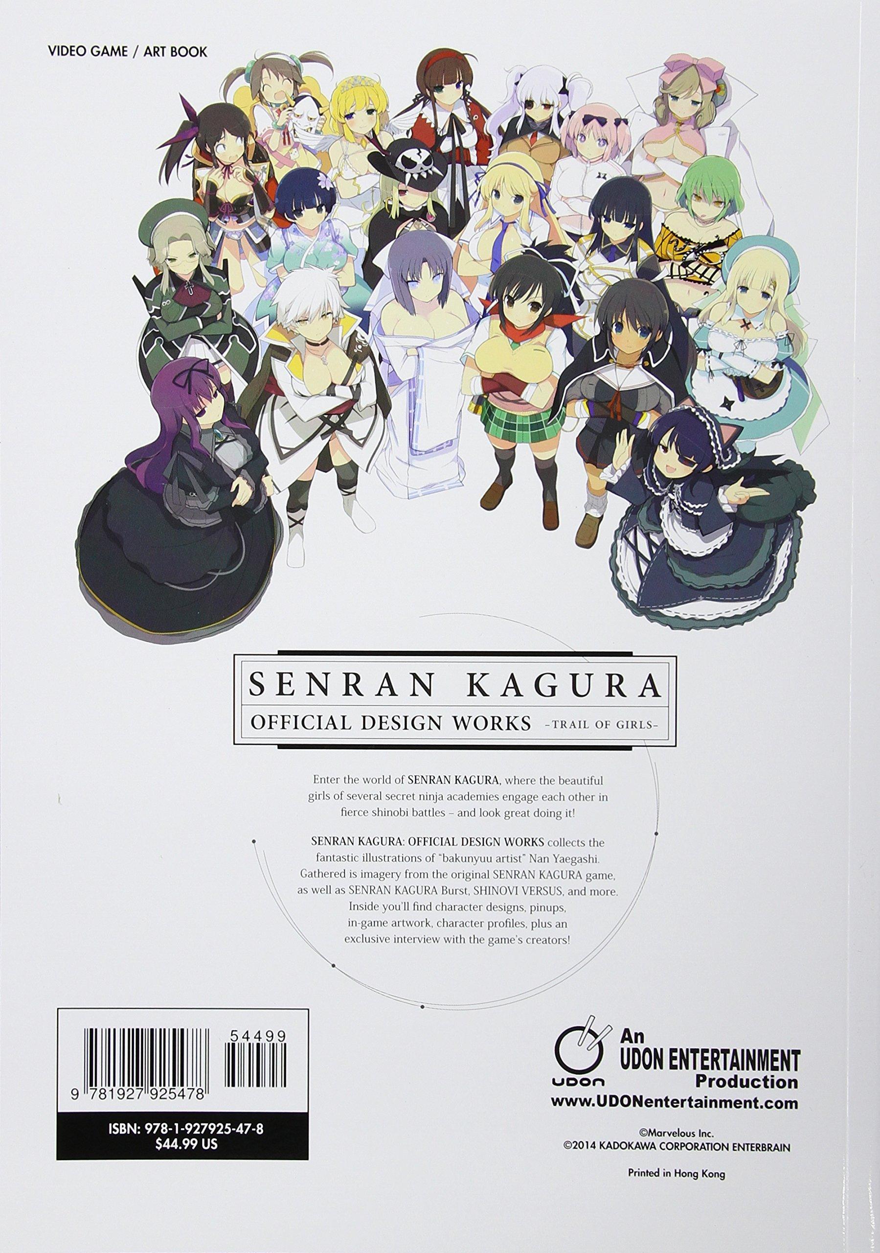Senran Kagura: Official Design Works: Amazon.es: Marvelous ...