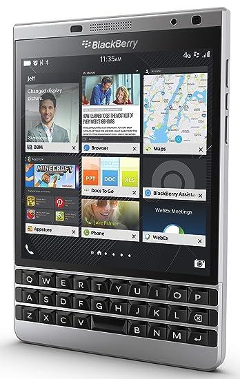 Amazon com: BlackBerry Passport Unlocked Phone - Retail Packaging
