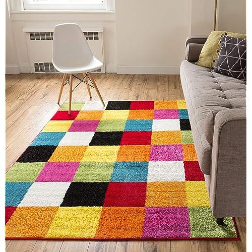 Rainbow Carpet Amazon Com