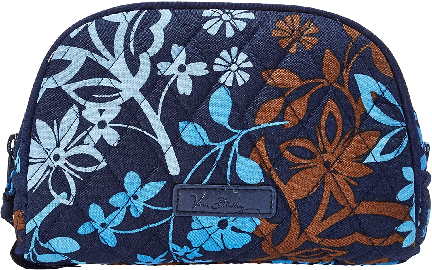 Vera Bradley Luggage Women s Small Zip Cosmetic Java Floral Cosmetic Bag