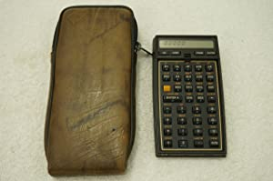 Hewlett Packard 41CV calculator