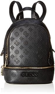 Guess Tiggy Bowery Backpack, Zaino Donna, Avorio (Stone), 11.5x27.5x23.5 cm (W x H x L)