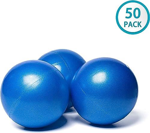 Pilates Yoga 8 Blue Ball Fitness Over Ball Bender Pack of 50