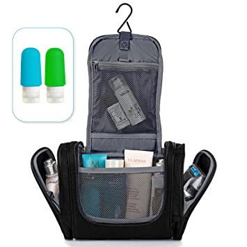 Charmant Hanging Toiletry Bag   Travel Organizer   Toiletry Kit   Shower Bag   Bathroom  Bag For