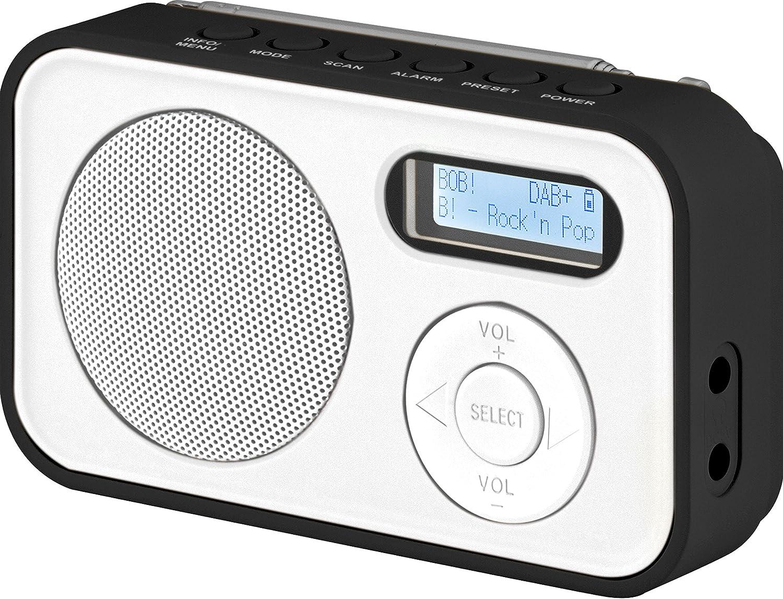 Imperial DABMAN 18 - Radio Digital portátil (Dab +/FM, Pantalla LCD,  Batería, 18 x AAA Pilas)