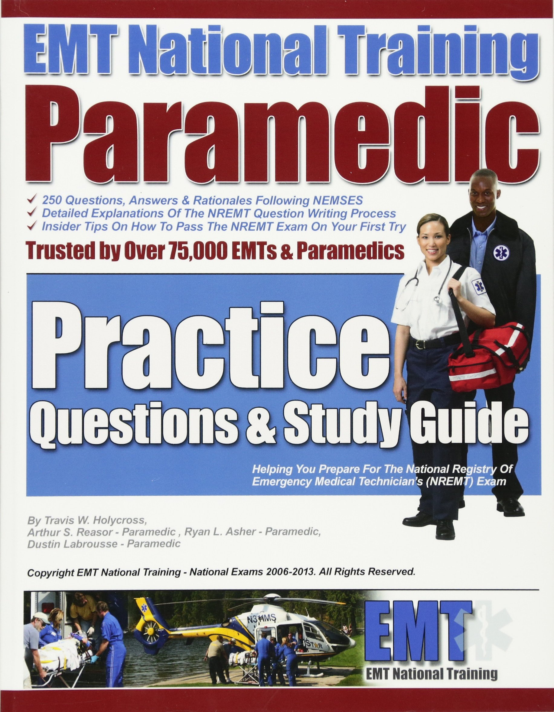 EMT National Training Paramedic Practice Questions & Study Guide: Mr ...