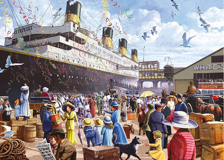 King Classic Collection Titanic 1000 pcs 1000pieza(s) - Rompecabezas (Jigsaw puzzle, Historia, Adultos, Geen, Hombre/Mujer, 8 año(s)): Amazon.es: Juguetes y ...