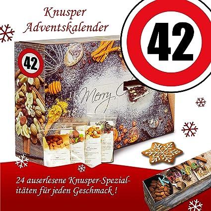 Geschenke Weihnachtskalender.Geschenke Zum 42 Weihnachtskalender Knusper Adventskalender