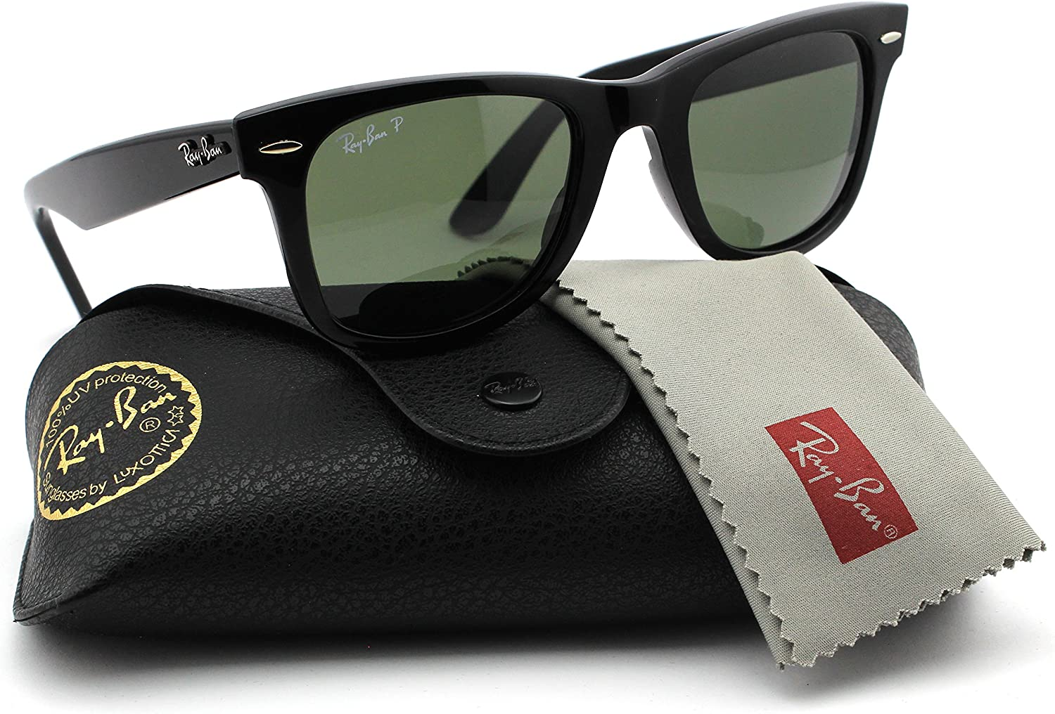 ray ban wayfarer rb2140 with polarized lenses