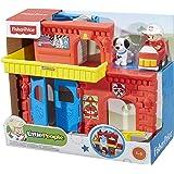 Mattel Fisher-Price BGC67 - Little People Feuerwehr Station