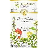 Celebration Herbals Dandelion Root Raw Tea Organic 24 Tea Bag, 21Gm