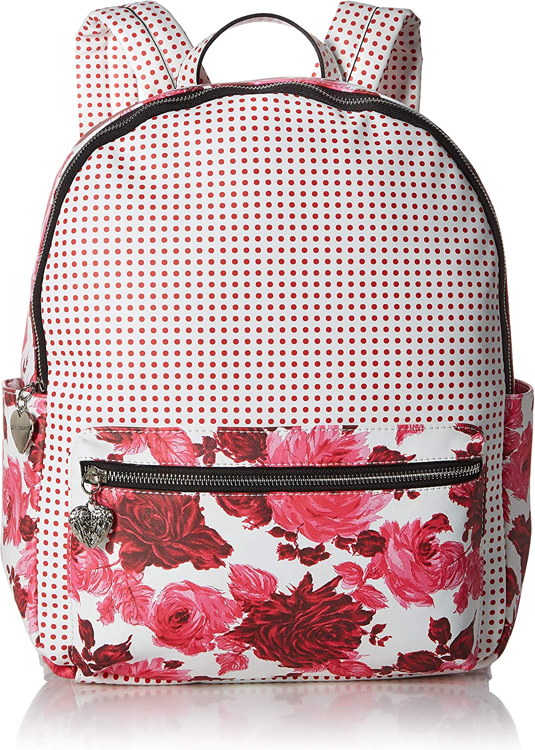 Betsey Johnson Women's Mixing It Up Large PVC Backpack