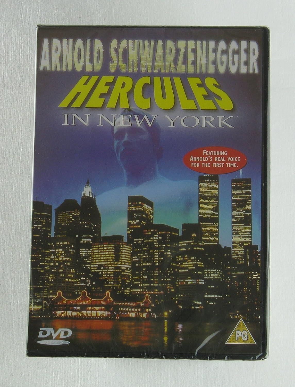 Hercules in New York [Reino Unido] [DVD]: Amazon.es: Arnold Schwarzenegger, Arnold Stang, Deborah Loomis, James Karen, Ernest Graves, Tanny McDonald, ...