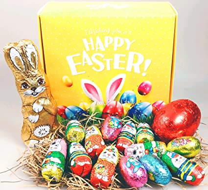 The happy bunny and eggs easter gift box chocolate bunny eggs the happy bunny and eggs easter gift box chocolate bunny eggs exclusively by negle Gallery