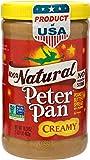 PETER PAN Peanut Butter Natural Creamy, 1 x 462g