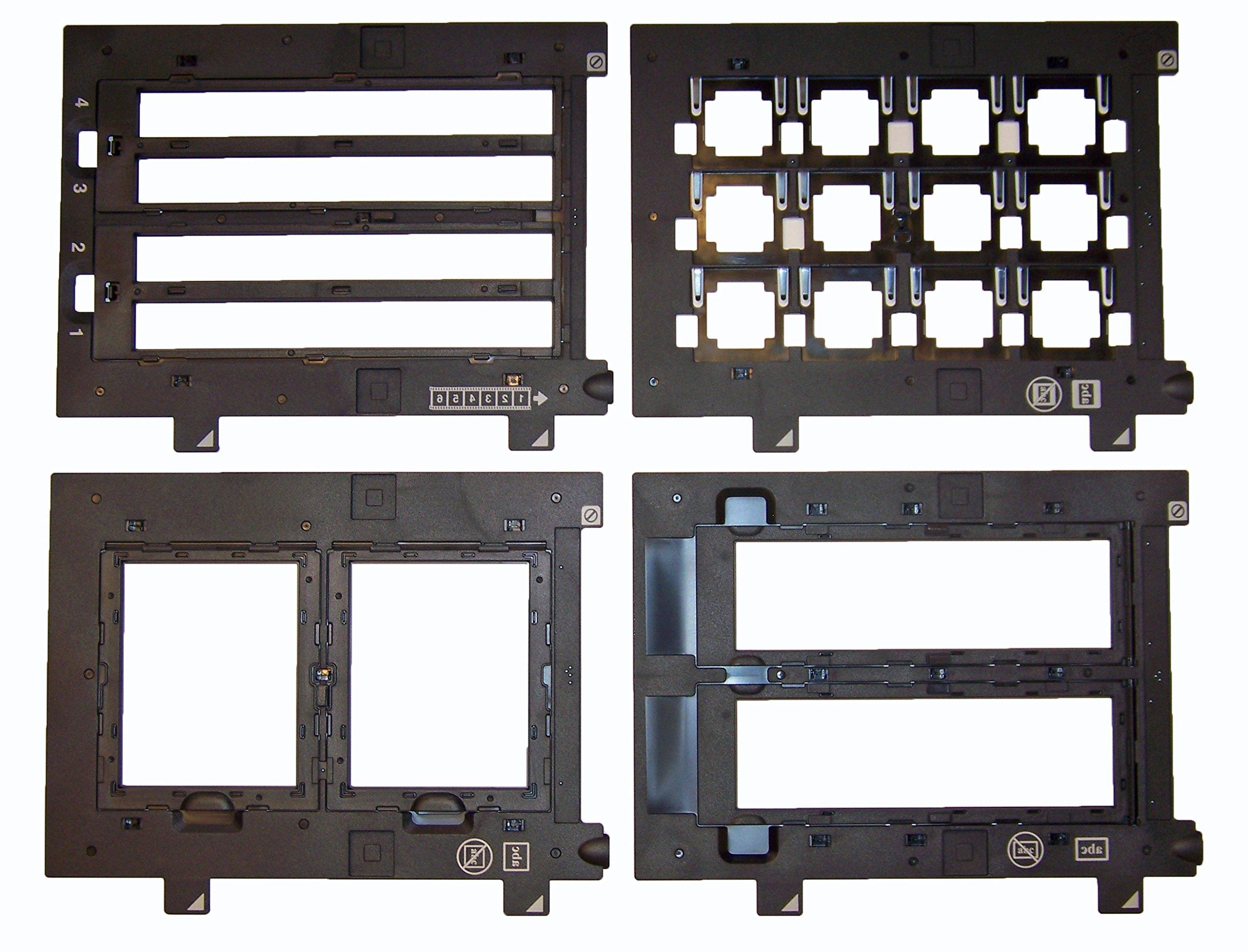 Epson Perfection V700 - Bundle! Includes Slide Holder, 4x5 Holder, 35mm Holder & 120 Holder! All 4 Holders!