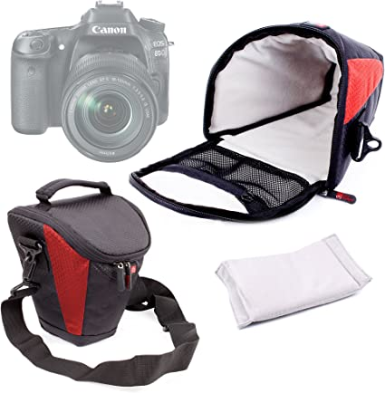 DURAGADGET Funda para Cámara Canon EOS 1300D / Rebel T6: Amazon.es ...