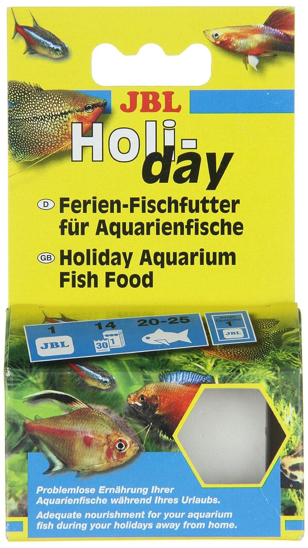 JBL 40310 - Alimento para todos los tipos de peces de acuario, bloque de comida para las vacaciones: Amazon.es: Productos para mascotas