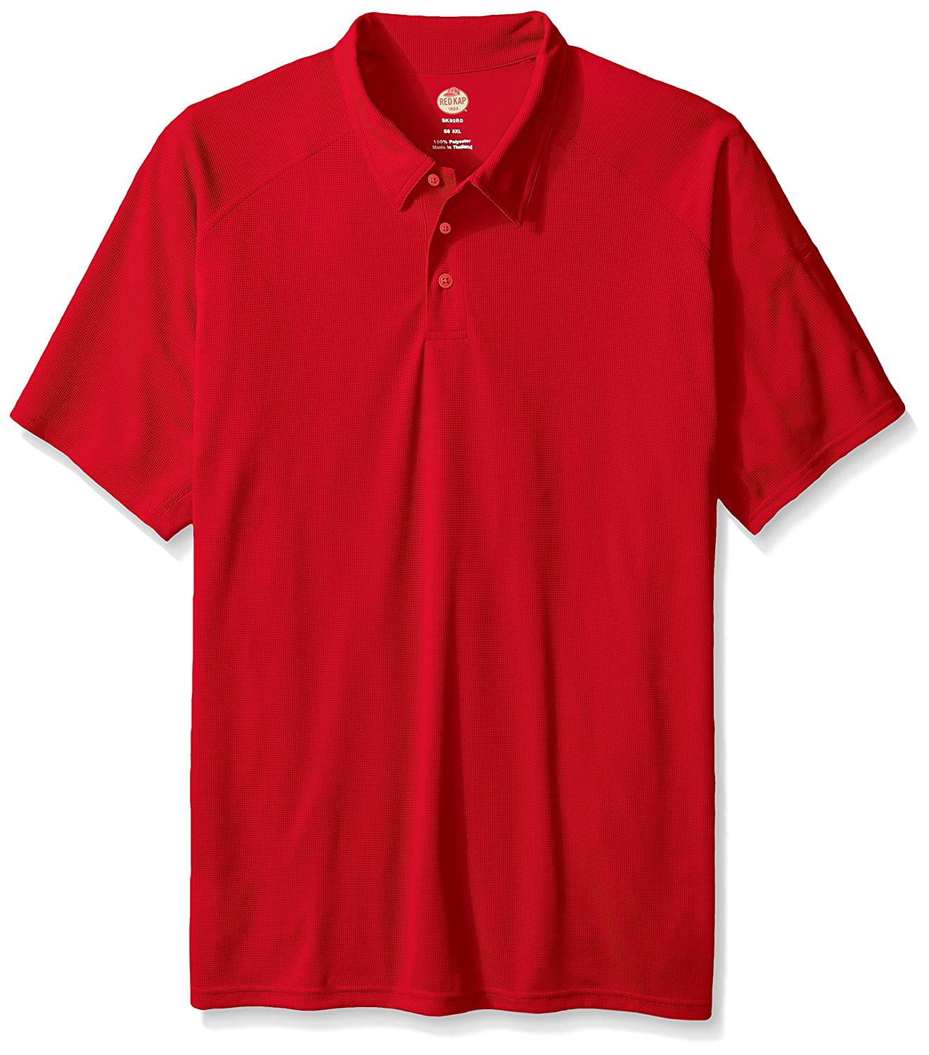4c82e4b371de1 Amazon.com  Red Kap Men s Big and Tall Big   Tall Active Performance Polo  Shirt  Clothing