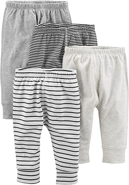 Simple Joys by Carters Baby Girls 4-Pack Pant