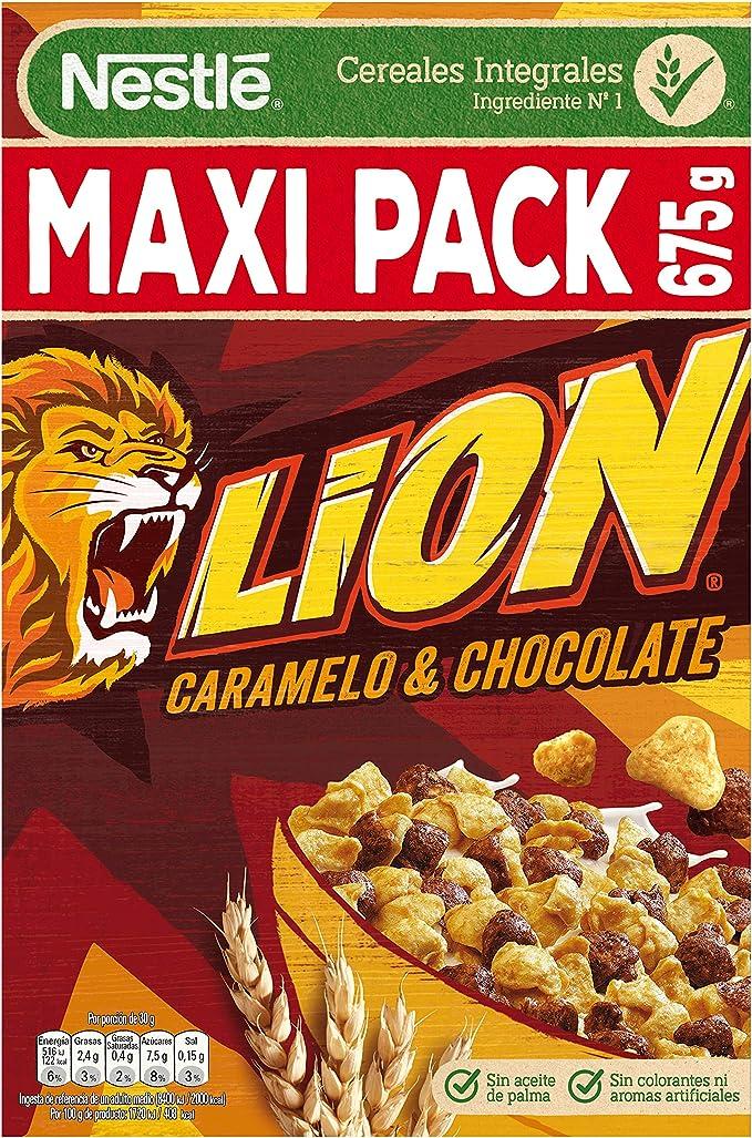 Lion - Cereales con Crema de Caramelo y Chocolate - 675 g