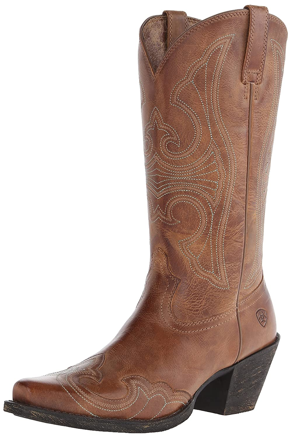 Ariat Women's Round up D Toe Wingtip Western Cowboy Boot B00NUII4KC 7 B-Medium US|Sandstorm