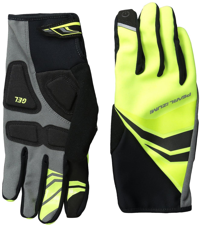 Black Large Pearl iZUMi Mens Cyclone Gel Gloves