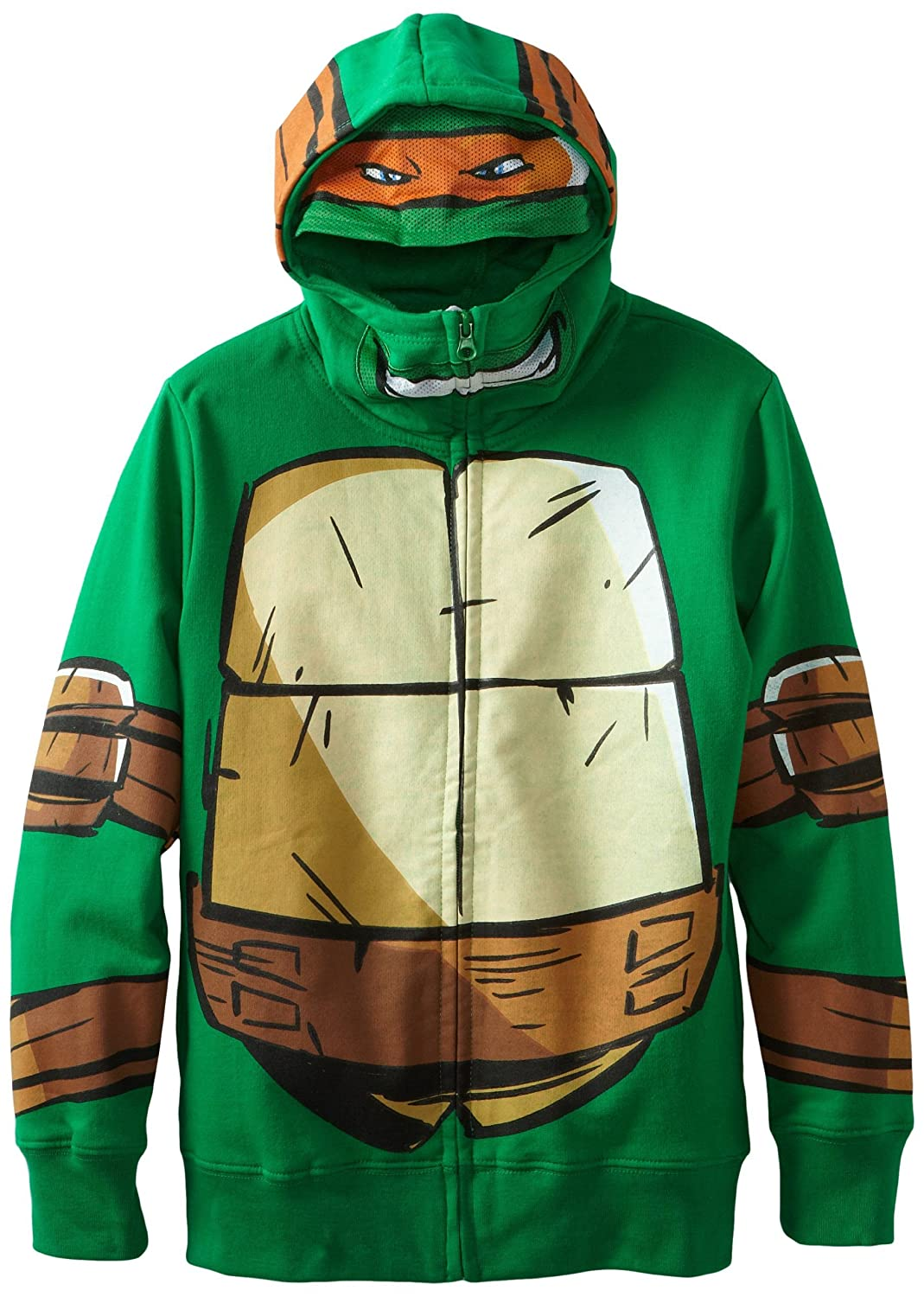 Teenage Mutant Ninja Turtles Boy's Zip-Up Hoodie, Small Freeze