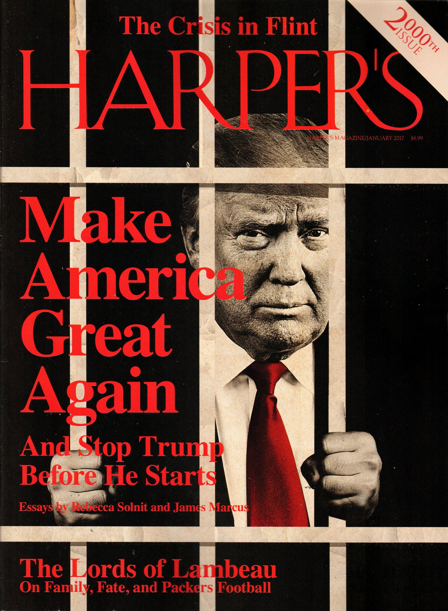 Read Online Harper's Magazine January 2017  Make America Great Again pdf epub