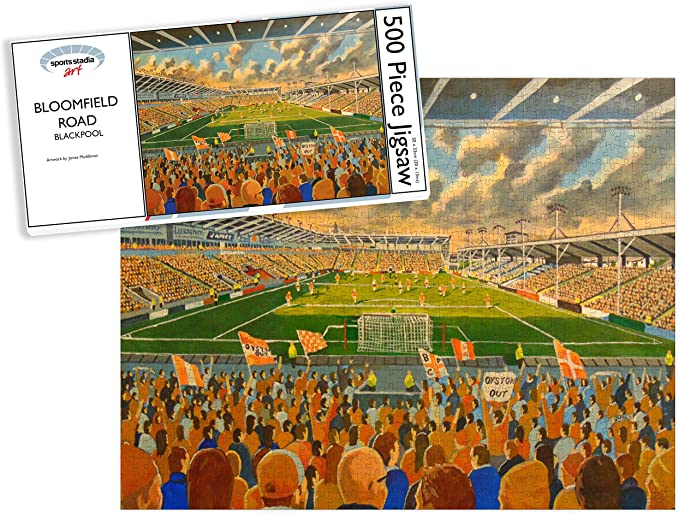Sheffield United Football Club Bramall Lane Stadium Fine Art /'Going to the Match/' 500pc Jigsaw Puzzle