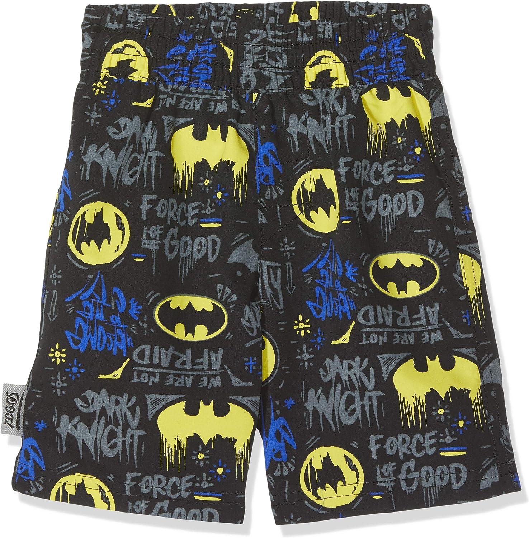 Chaleco Rash Ni/ños Zoggs Batman Long Sleeve Sun Top with UPF 50+