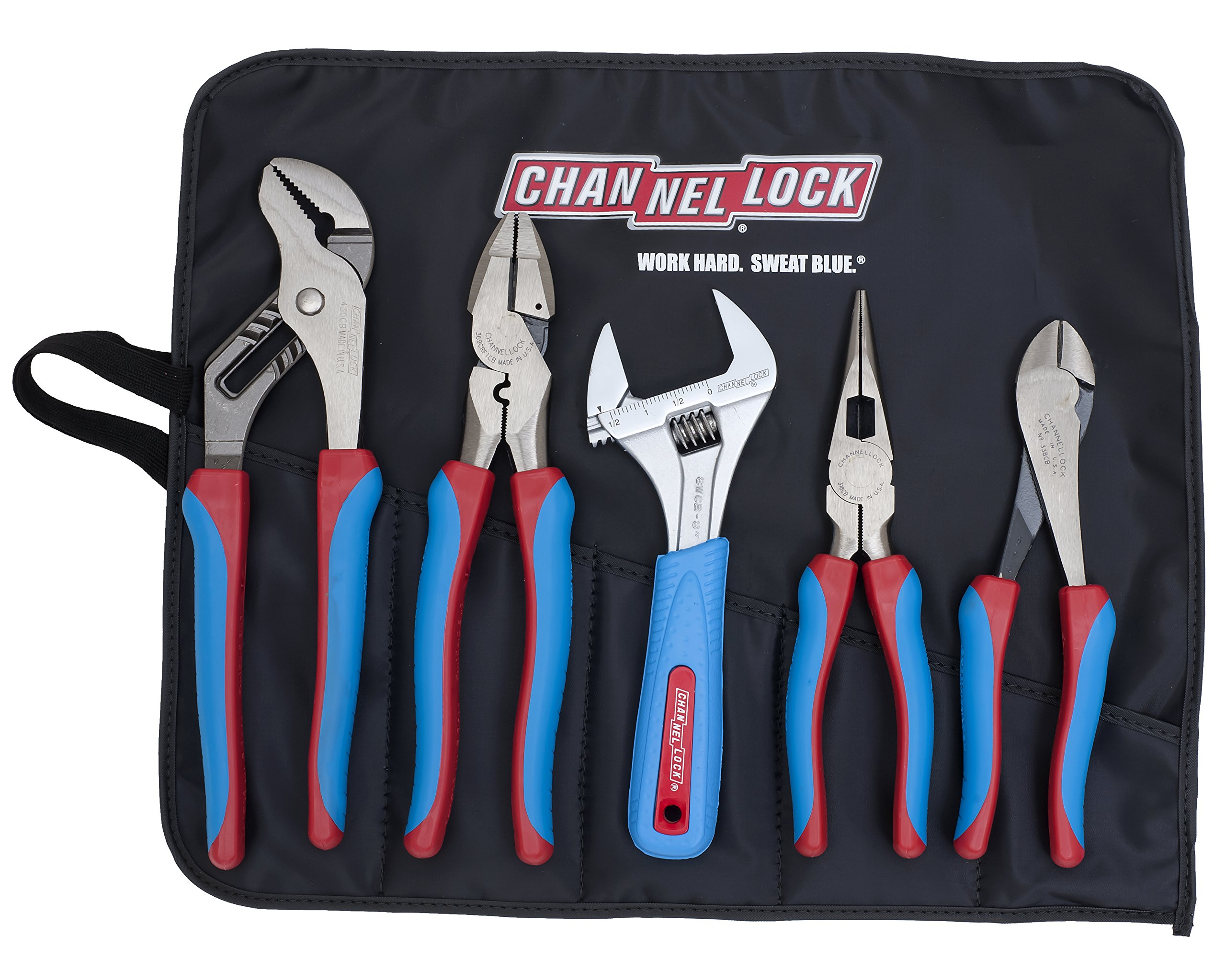 Channellock CBR-5A  Code Blue Set with Tool Roll, 5-Piece