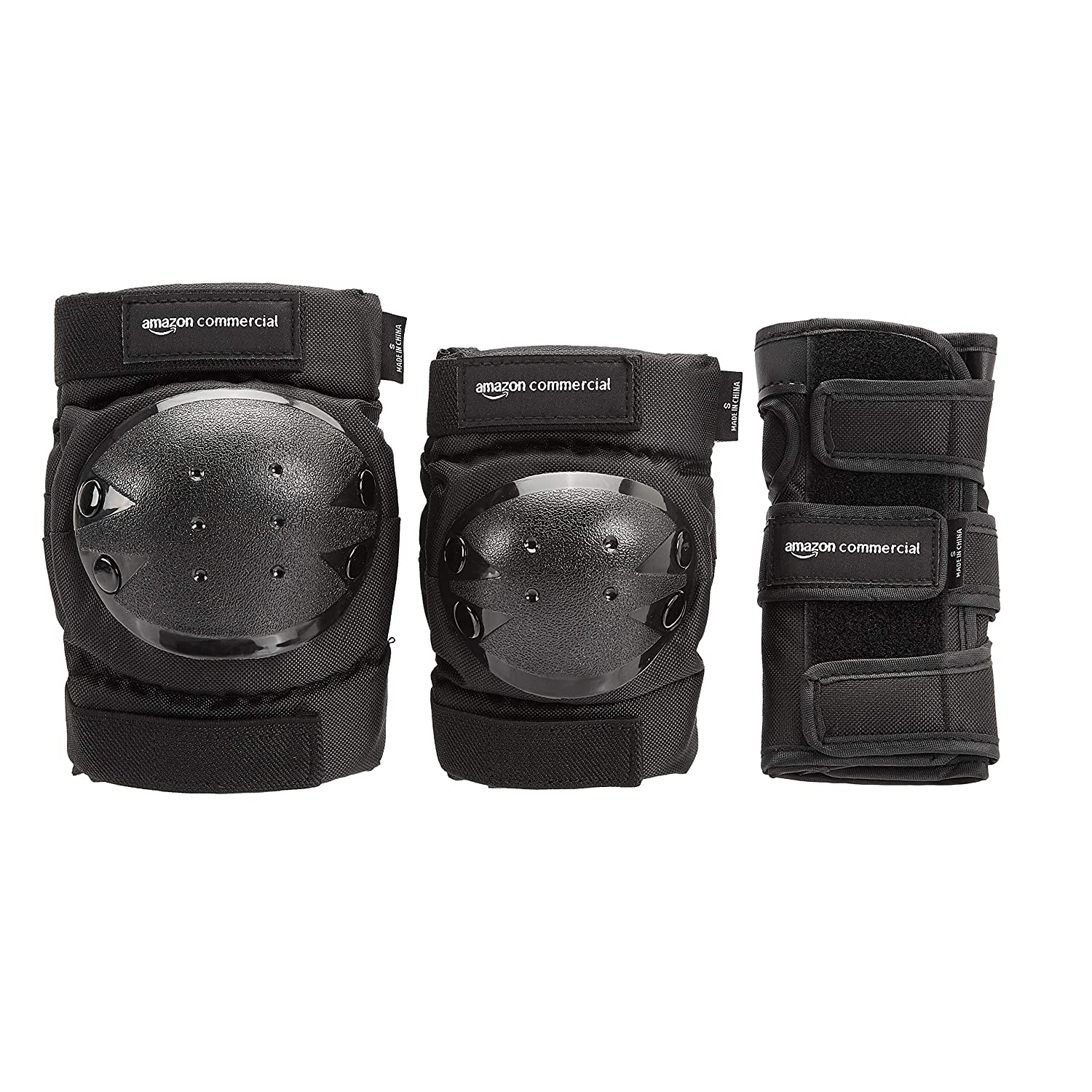 Large Knee Pads Rollerblade Protective Skate Gear w// Wristguards /& Elbow Pads