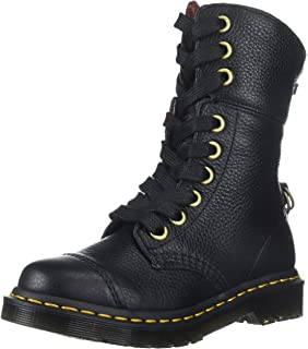 23f3e8166be Dr. Martens Women s Aimilita Black Aunt Sally Leather Fashion Boot