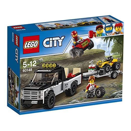 670 opinioni per LEGO City 60148- Great Vehicles Team da Corsa del Fuoristrada