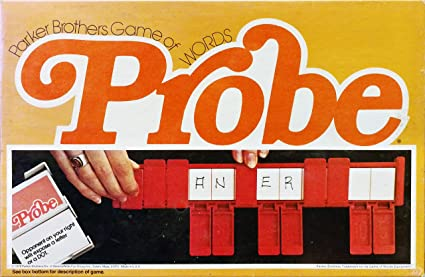 Amazon.com: Vintage Probe Game of Words (1976): Toys & Games