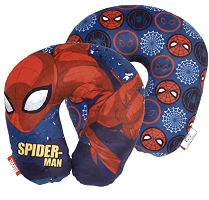 Spiderman Cojin Cuello Poly 33x33cm, Datos