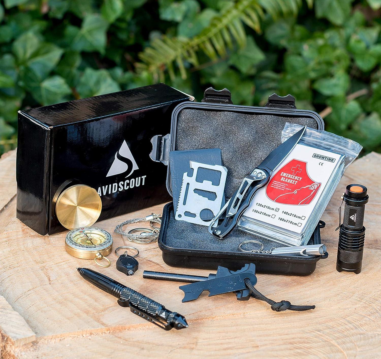 Bushcraft EDC - AvidScout Emergency Survival Kit