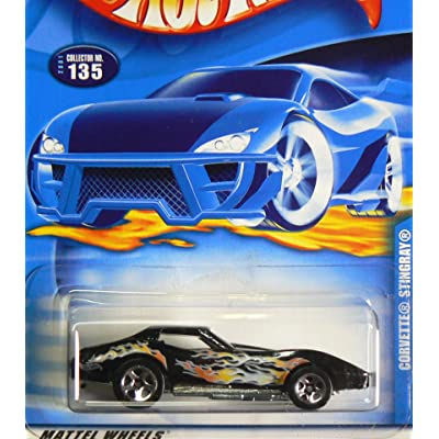#2001-135 Corvette Stingray Collectible Collector Car Mattel Hot Wheels