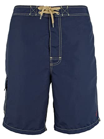 6c49eba4b2 Polo Ralph Lauren Men's Solid Kailua Swim Trunks-NN-XL | Amazon.com