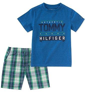 184aa46dd2ad Tommy Hilfiger Boys 2 Pieces Shorts Set  Amazon.ca  Clothing ...